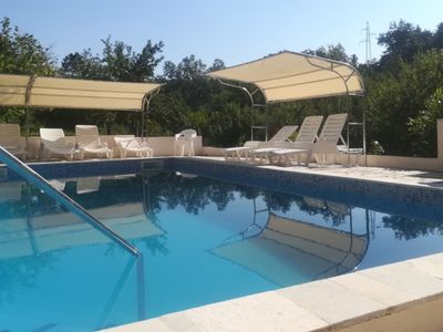 Photo for Villa Mandalena in Buzet, 2 separated accommodations, outdoor pool, playground