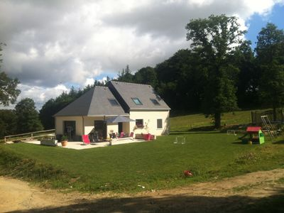 Photo for Modern 4 bedroom country house with stable and horses