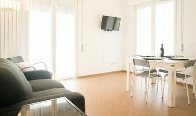 Photo for New apartment, Wi-Fi, Sat TV, Air Cond close to Villa Borghese, Sapienza & Luiss