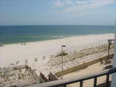 Photo for WOW! Romar Tower/Orange Beach Beachfront/3/2 Condo Walkin Shower/20' Balcony