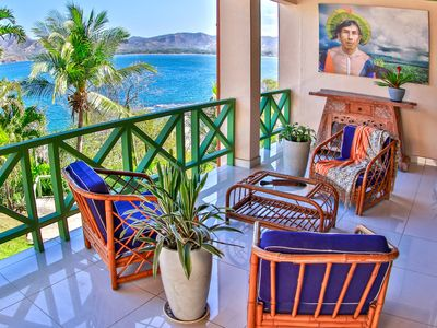 Photo for NEW LISING* Ocean View+ Renovated Modern Spacious  +Lap Pool + Private Beach
