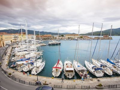 Photo for La Calata apartment on the first floor on the seafront of Portoferraio