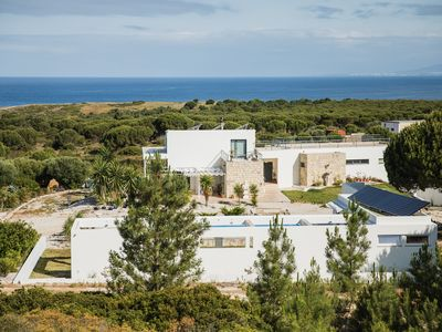Photo for Premium 3 bedroom villa on 3 acre farm with pool and sea view