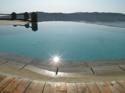Photo for House Felicity MYKONOS, 1 BR, 1 BA,Pool, Up to 4 Guests, Perfect location and Majestic view!
