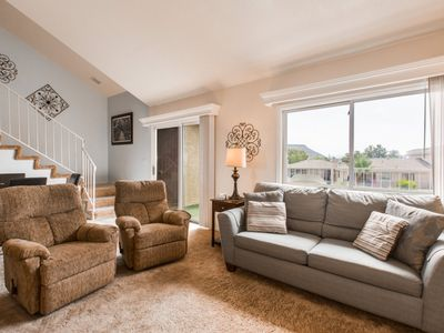 Photo for M10   BEAUTIFUL VIEWS OF THE CLUBHOUSE AMENITIES AND MOUNTAINS!