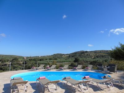 Photo for Villa Chreal - full privacy with panoramic view and only 5 min. fr. sandy beach
