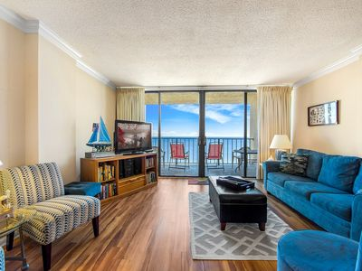 Photo for Ocean Front Balcolny Views!! Family Friendly!