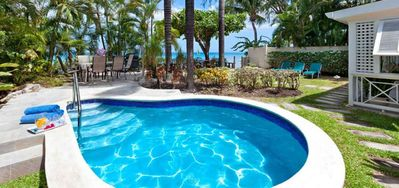 Photo for Villa Seawards  -  Beach Front - Located in  Stunning Saint James with Private Pool