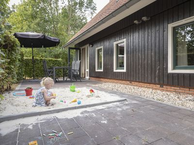 Photo for 8-person 'children's' farmhouse in the holiday park Hof van Saksen - on the water/recreation lake