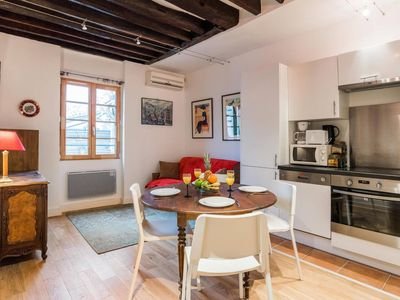 Photo for Heart of Le Marais in the Best Area of Paris - 1BR Flat