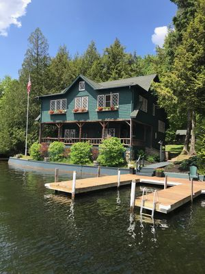 Photo for LAKE PLACID WATERFRONT HOME AND PONTOON BOAT!