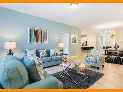 Photo for Solterra Resort 9 - villa with private pool & game room near Disney
