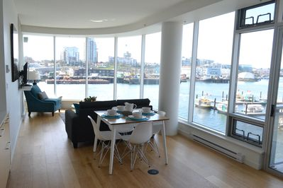 Stunning water views of the from entire suite.