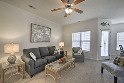Your East Coast getaway awaits at this 2 bedroom Lewes vacation rental condo!