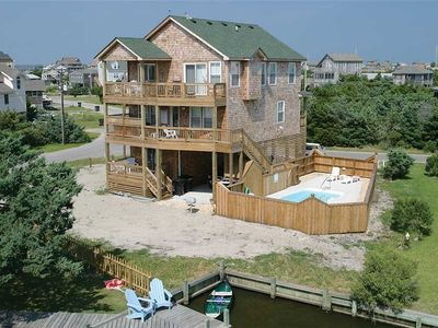 Photo for Pompano Lou's CANALFRONT in Avon w/Htd Pool&HotTub, PetFriendly