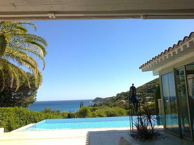 Photo for Wonderful 4-room house with a stunning view close to the beach