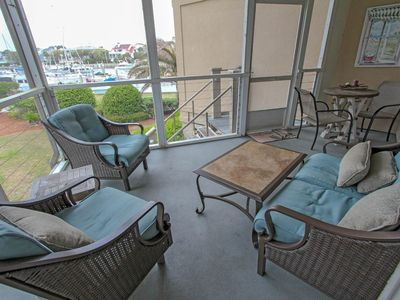 Photo for Spacious condo with great Yacht Harbor views and boat slip rentals available