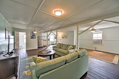 Inside, you'll find all of the comforts of home, plus room for 4 guests!