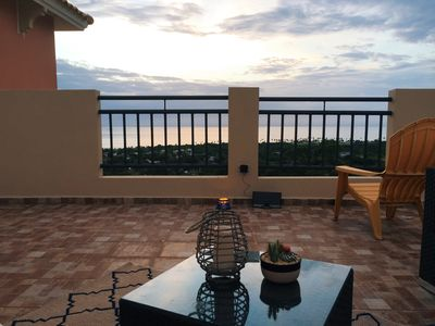 Watch the sunset & wait for the stars to arrive at the private rooftop terrace.