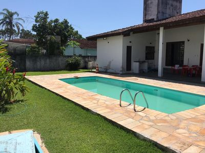 Photo for Super House in Caraguatatuba, Swimming Pool, Football Field, 100m to the Beach