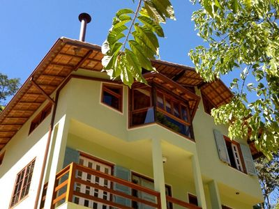 Photo for Beautiful house by the river in Serra Carioca