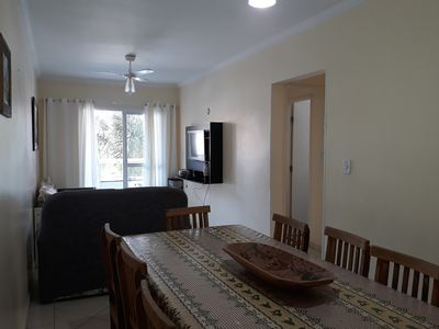 Photo for Apt 2 Bedrooms / 60m from the Beach / Barbecue on the balcony / Pool / 01 parking space