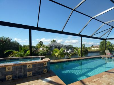 Photo for ❤ Enthusiastic tenants! SPECIALS NOW, dream villa in west facing with pool, by the canal