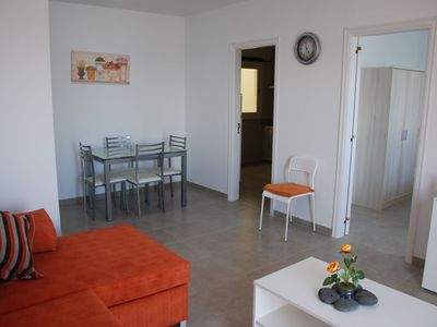 Photo for Nice, renovated apartment, sea view, Los Abrigos