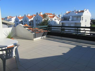 Photo for Aveiro and beach with a large terrace
