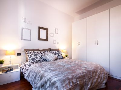 Photo for An elegant and quiet apartment in the picturesque pedestrian centre of the city of Como.