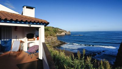 Photo for House by the sea with terrace and stunning views.