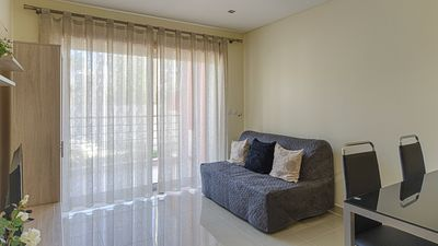 Photo for 1 Bed apart./swimming pool!Perfect for 4 persons,5 min walking to the beach.
