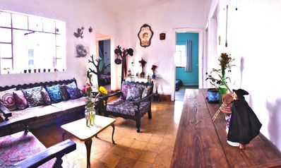 Photo for Comfortable vintage house very close to the center of CDMX