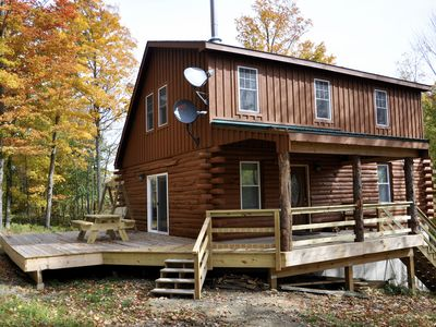 Photo for 3BR Cabin Vacation Rental in Worcester, New York
