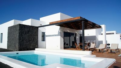 Photo for Villa Miramar C8 with private heated pool, wifi, Air-Conditioning