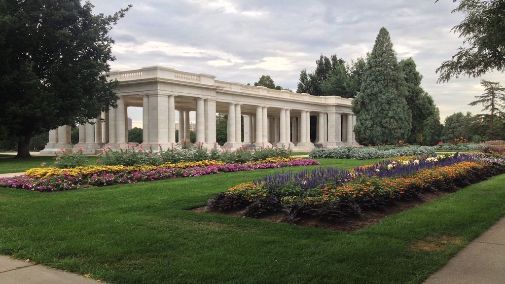 Image result for cheesman park