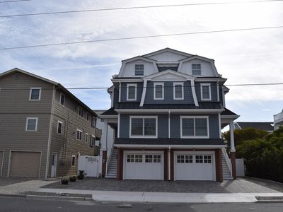 Photo for EXTREMELY WELL KEPT TOWNHOUSE located at the end of the Promenade - 1 house from Beach!