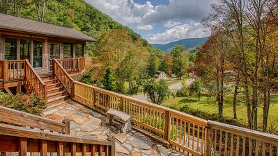 Photo for Book Now for 2019 ~ Luxury Lodge ~ Creek & Mountain View