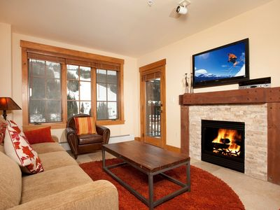 Photo for Modern 2 Bedroom Condo with Fireplace and UNBEATABLE Amenities!