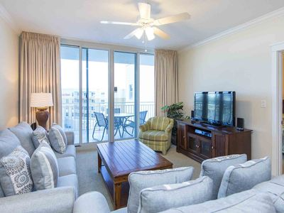 Photo for Reserve this Beach Front Condo ~ Private Balcony and Free WiFi