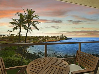 Photo for Kuhio Shores 303: Oceanfront, AC, Surf And Snorkel Nearby