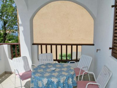 Photo for One bedroom apartment near beach Mandre, Pag (A-4123-a)