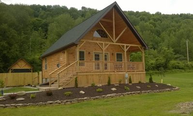 Hot Tub Cabin at Rough and Ready - Steuben County