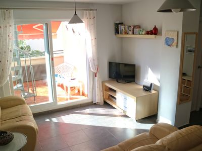 Photo for Air-conditioned pent house apartment with pool in Alcossebre Spain
