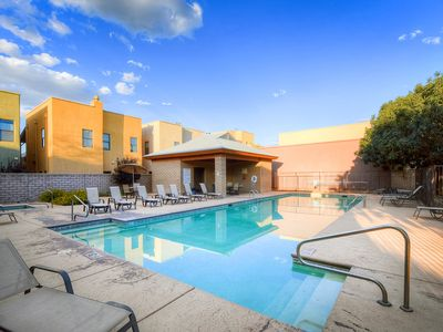 Photo for Comfortable home in Tucson - near town w/ a fireplace, shared pool, & hot tub