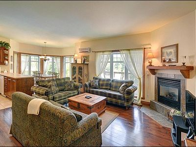 Photo for Amazing views of the Region and the Ski Slopes- 3 min Drive to Resort (215690)