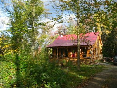 Photo for Dream Log Cabin, Yet Close to Everything! Dogs Welcome!!!