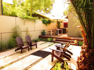 Photo for Stylish 2 bedroom 2 bath with sublime private garden