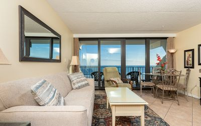 Photo for 1 Bedroom at Island Winds East on the 5th Floor *GULF FRONT!*