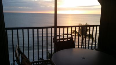 Photo for SEASIDE ,Penthouse Gulf Front Condo with ocean and sunset vu heated pool,publix